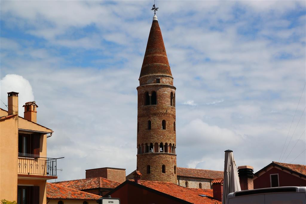 historická věž v Caorle