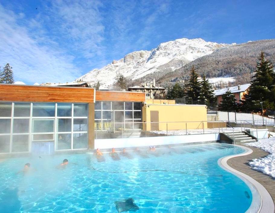 Bormio Terme - výborná relaxace po lyžování