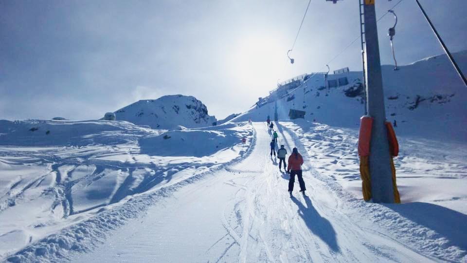 Skiareál Campetti je vhodný pro nováčky na lyžích