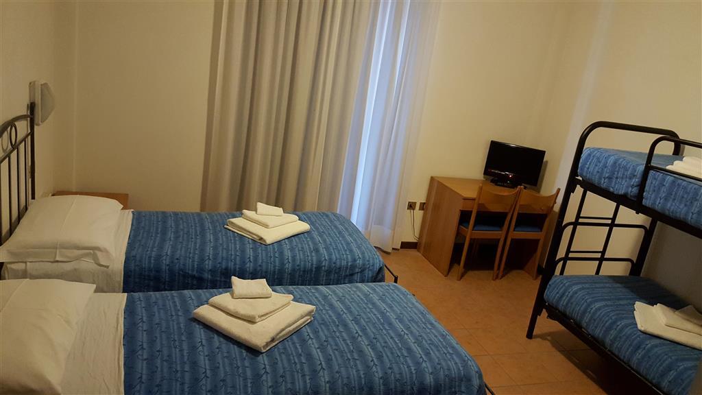 Některé pokoje jsou s možností až 2 přistýlek, které mohou být ve formě palandy nebo manželského lůžka