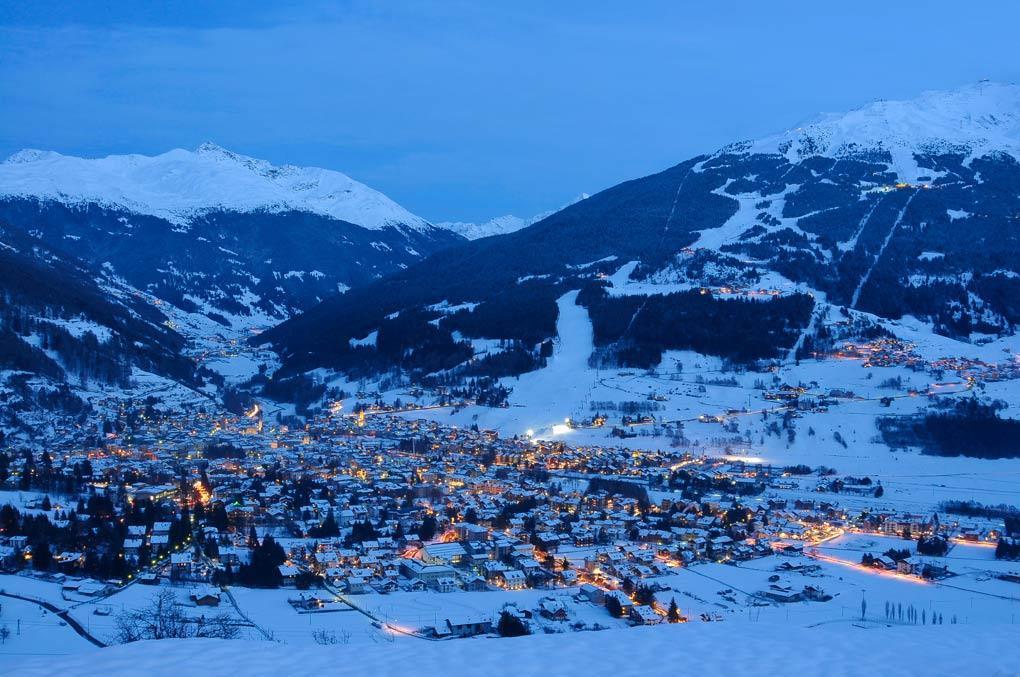Snowpark Bormio - najdete u lanovky Stella Alpina