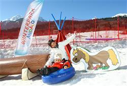 Navštivte nový Winter Park v Andalu se snowtubingem pro malé i větší