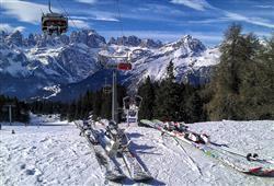 Hotely Paganella - různé *** hotely - 5denní lyžařský balíček se skipasem a dopravou v ceně***60