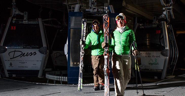 Noční lyžování začíná ve čtvrtek 19.1.2017