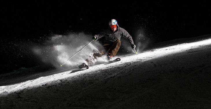 O noční lyžování nebudete ošizeni ani v Santa Caterině