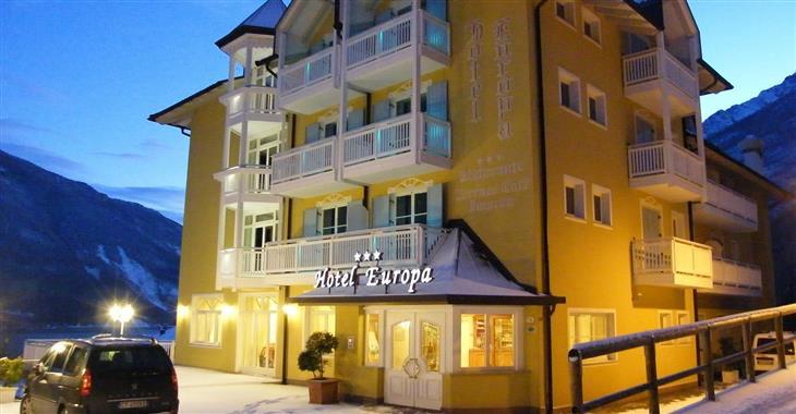 Stejně tak hotel Europa