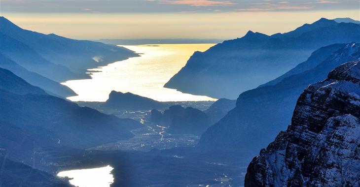 Nezapomenutelné výhledy na jezero Garda