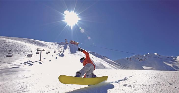 V areálu je vybudován i snowpark