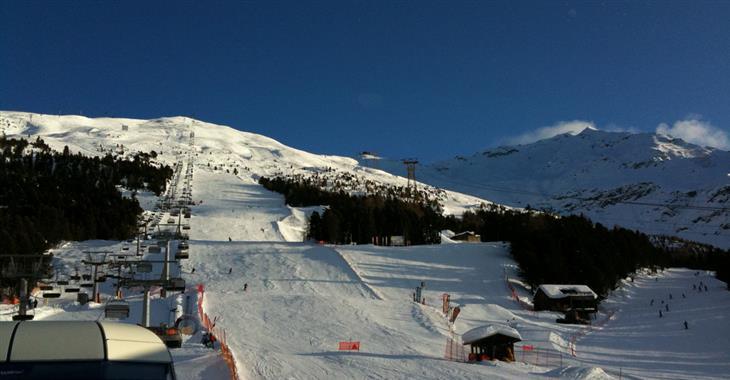 Stelvio každoročně hostí také světový pohár - World Cup Downhill Men