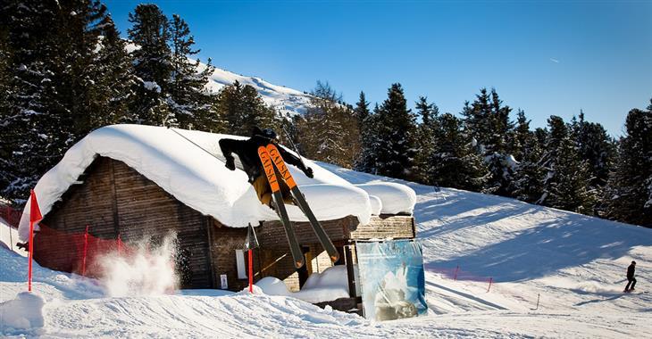 Ciuk 1638 m - dostupné i autem, menší místo pro trénink lyžování, blízko barů a restaurací - ideální pro rodiny