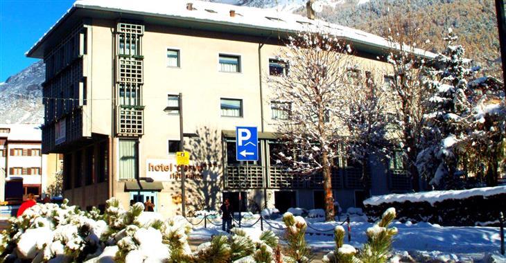 Po lyžování si můžete odpočinout v Bormio Terme - jen 7 minut chůze