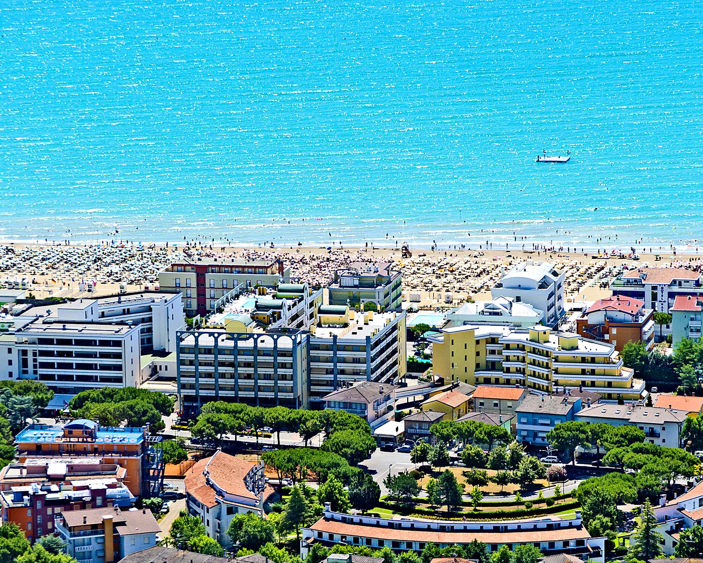 letecký pohled na residenci