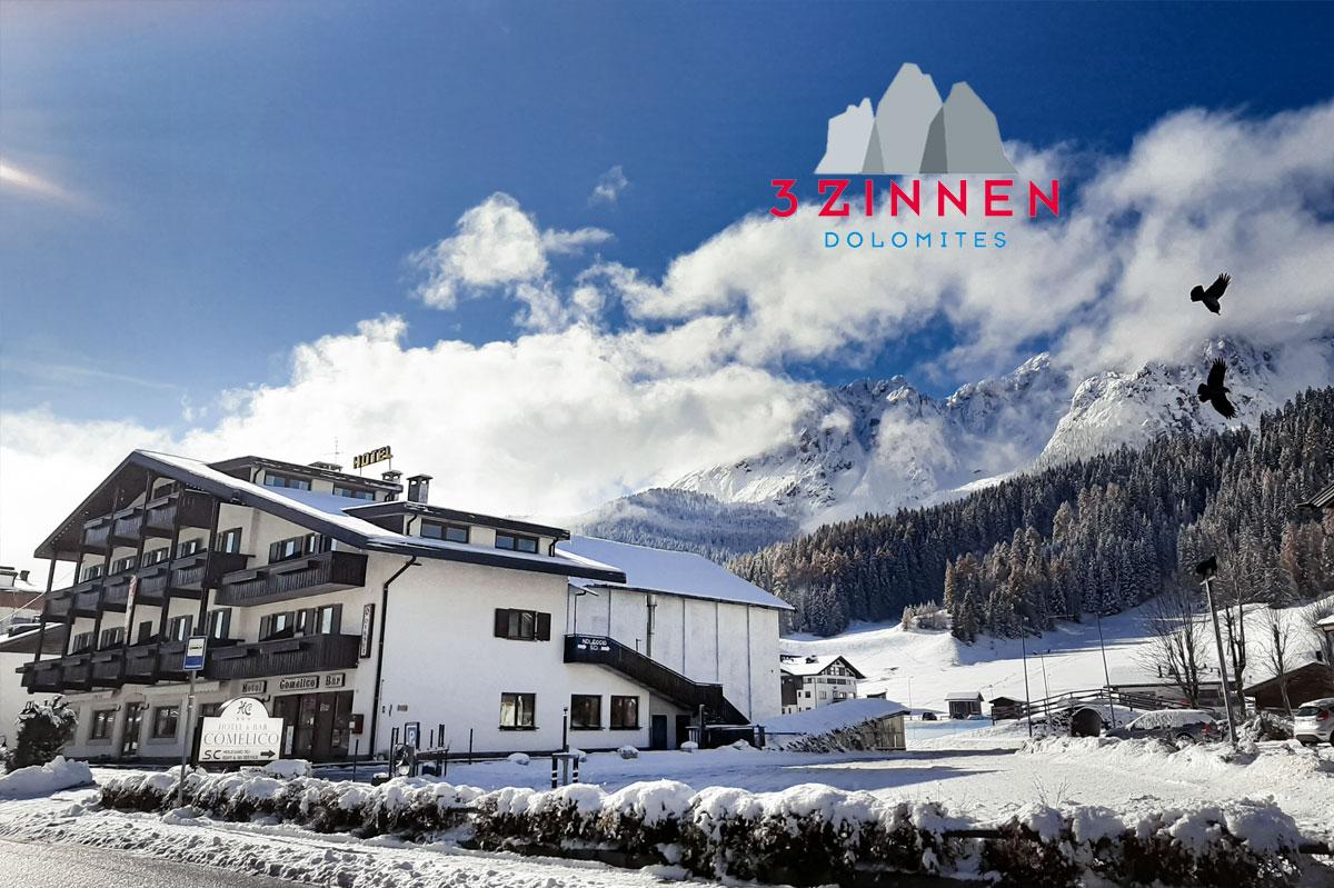 Hotel Comelico – 6denní lyžařský balíček se skipasem a dopravou v ceně***