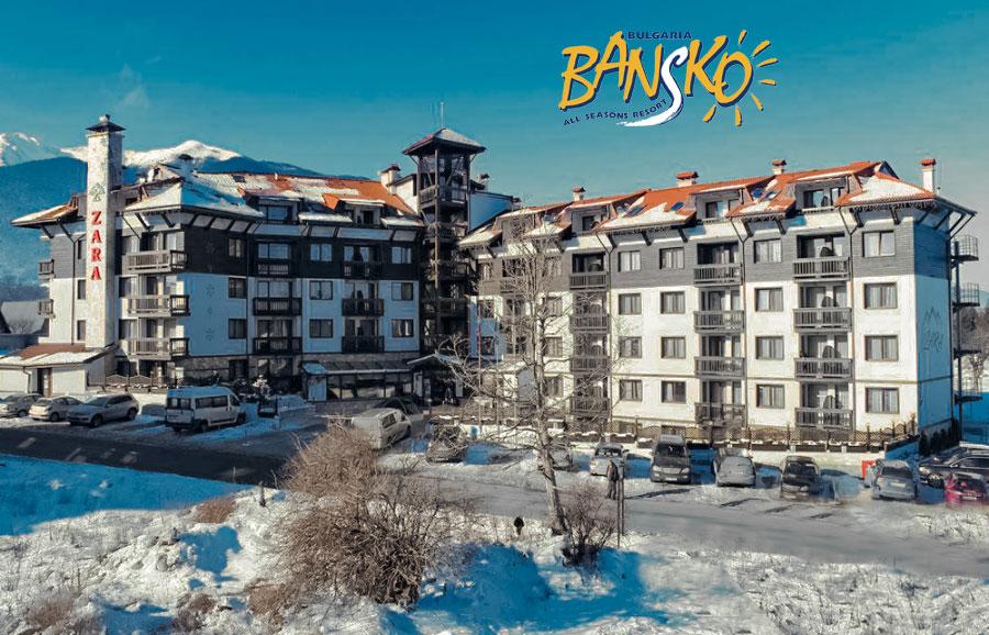 Hotel Zara – 6denní lyžařský balíček se skipasem a dopravou v ceně****