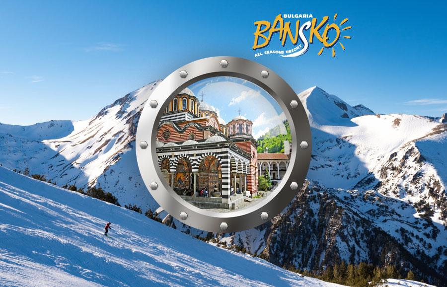 Velikonoční lyžování – Green Life Resort Bansko, balíček s dopravou a ubytováním****