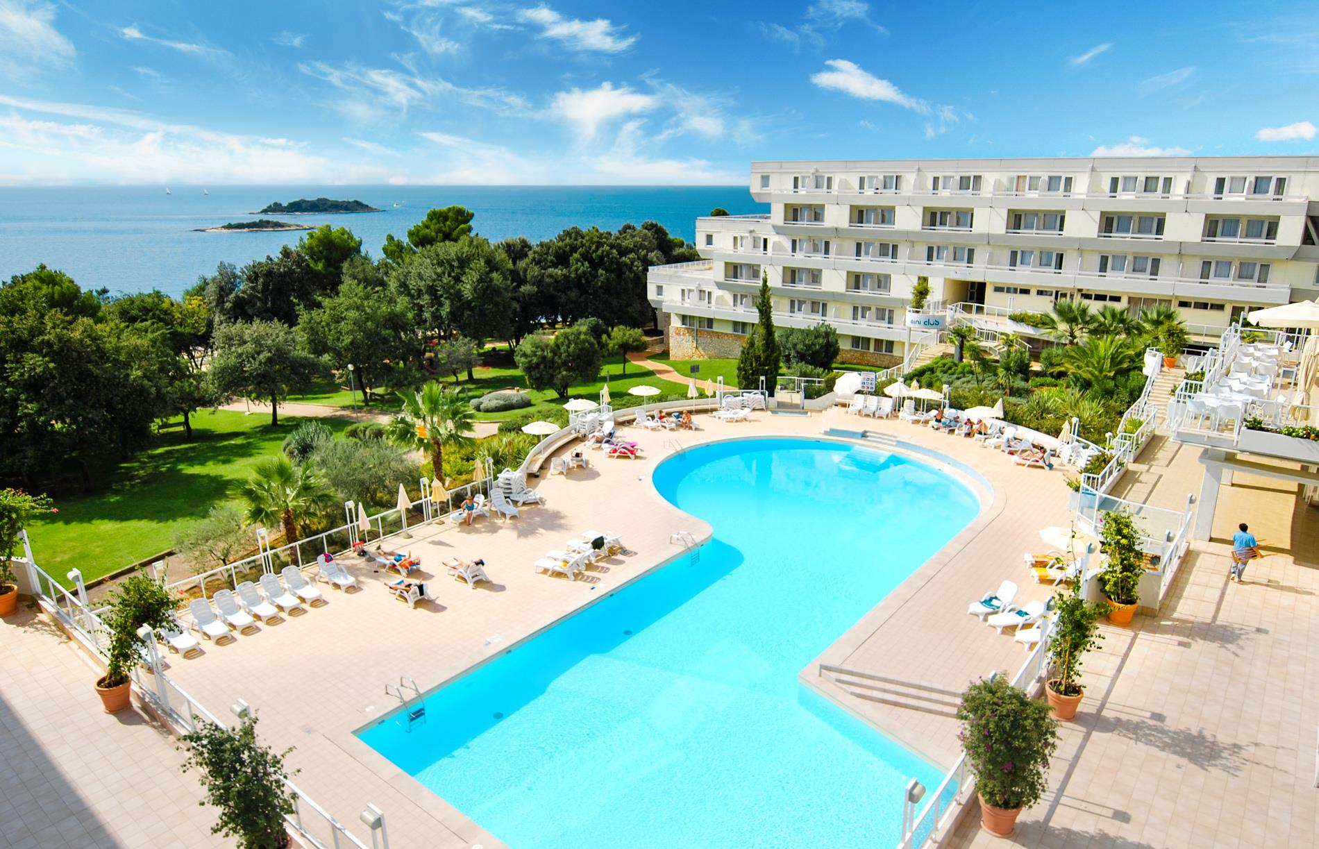 Hotel Delfin - Poreč Zelena Laguna**