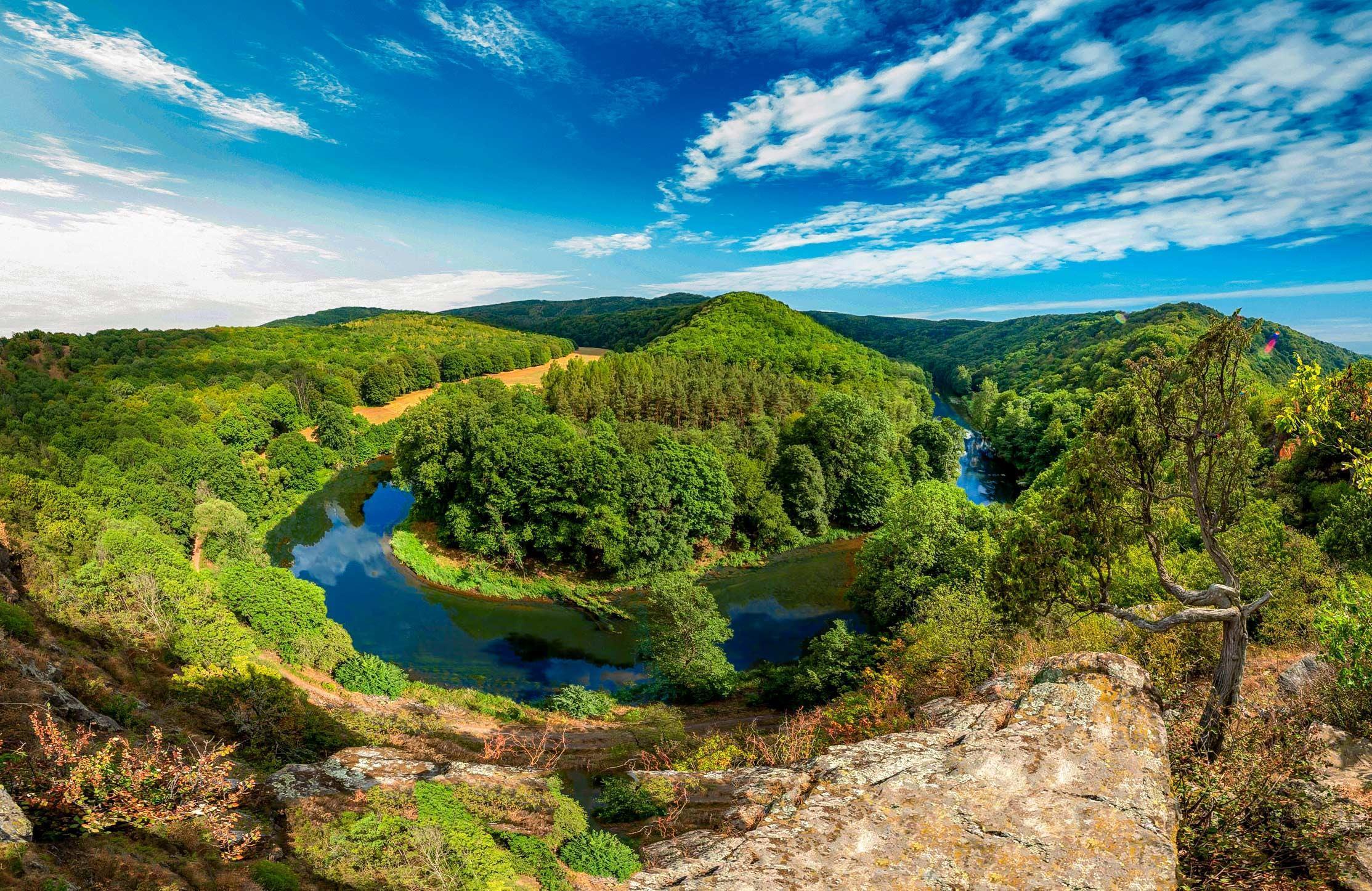 Náš výlet započneme v národním parku Thaytal, který leží jen kousek od hranic s Českou republikou
