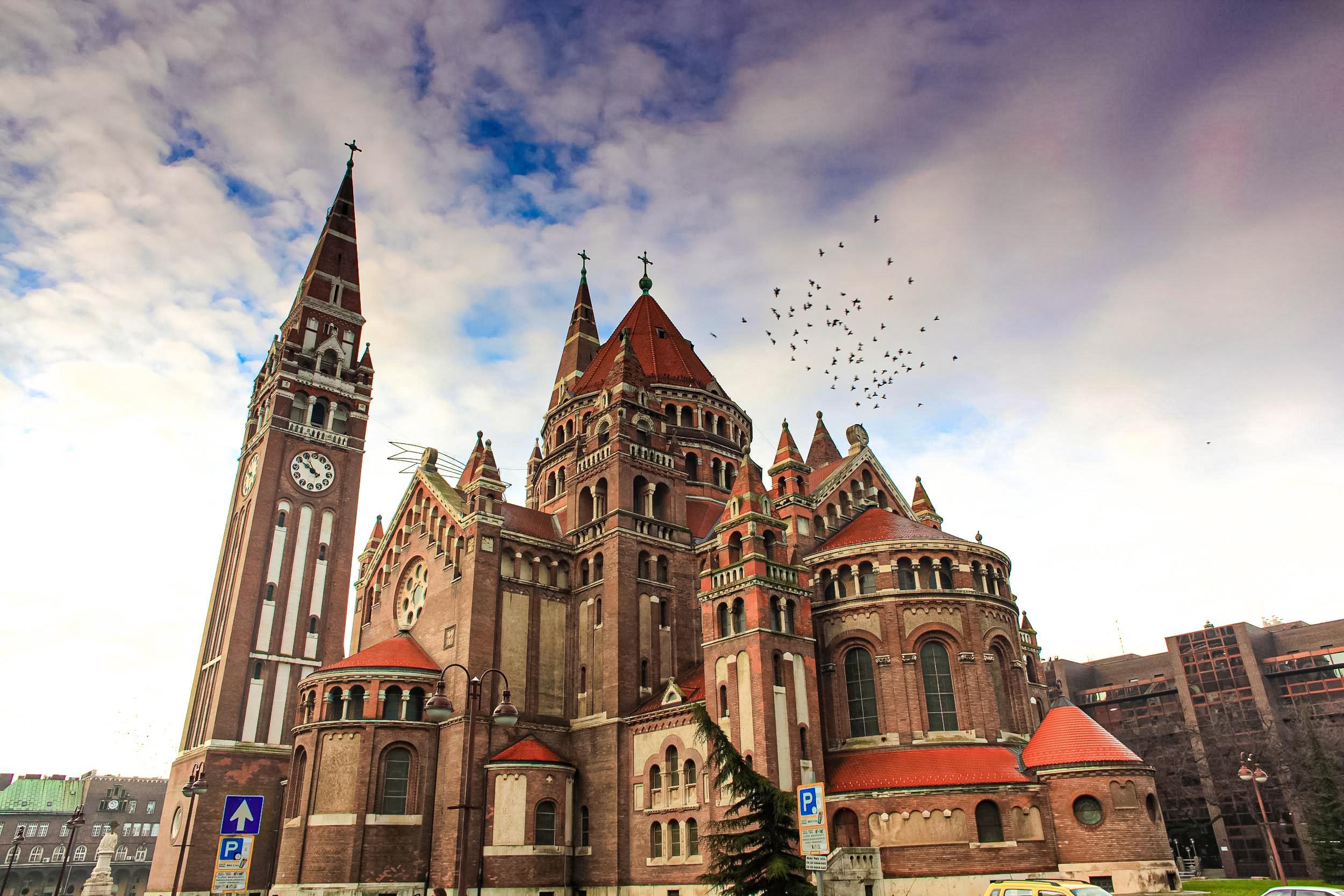 3denné Srbsko a maďarský Szeged