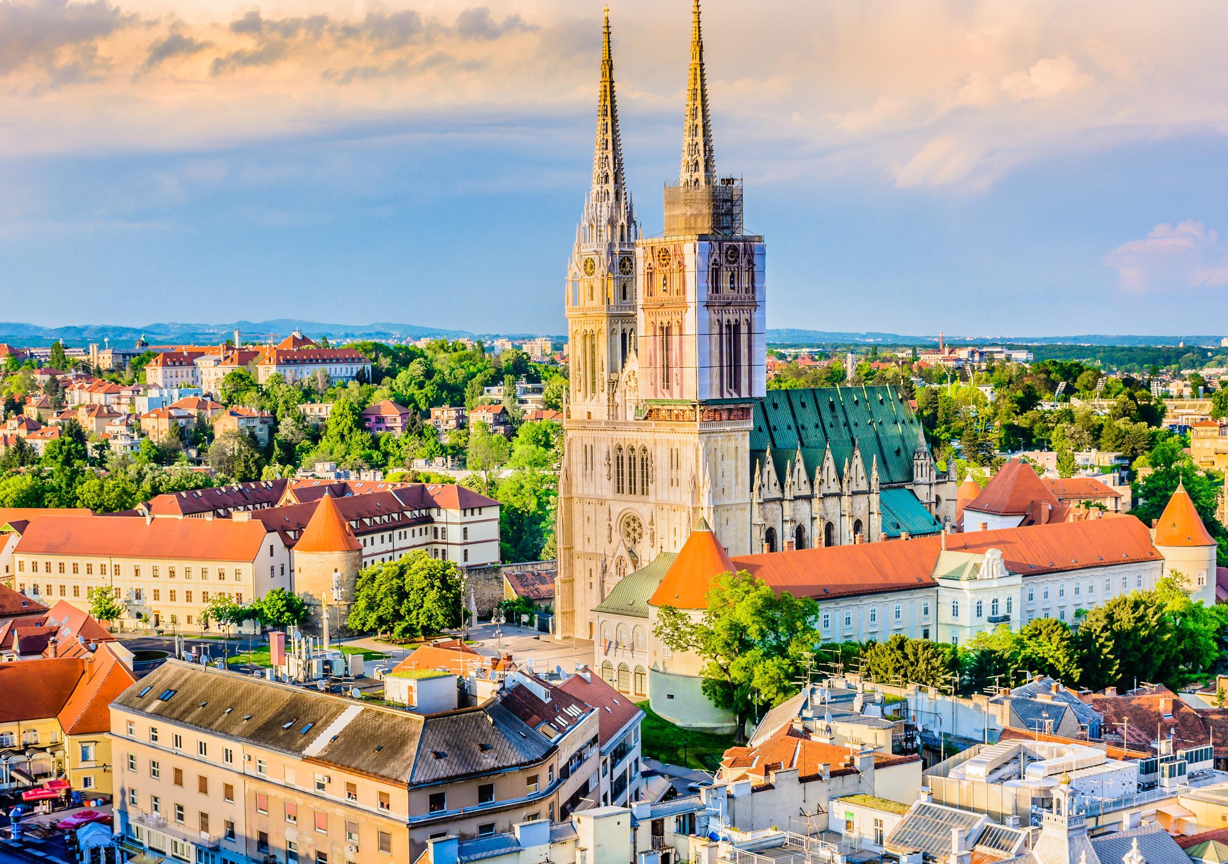 Hlavné mestá a prírodné krásy Chorvátska a Slovinska