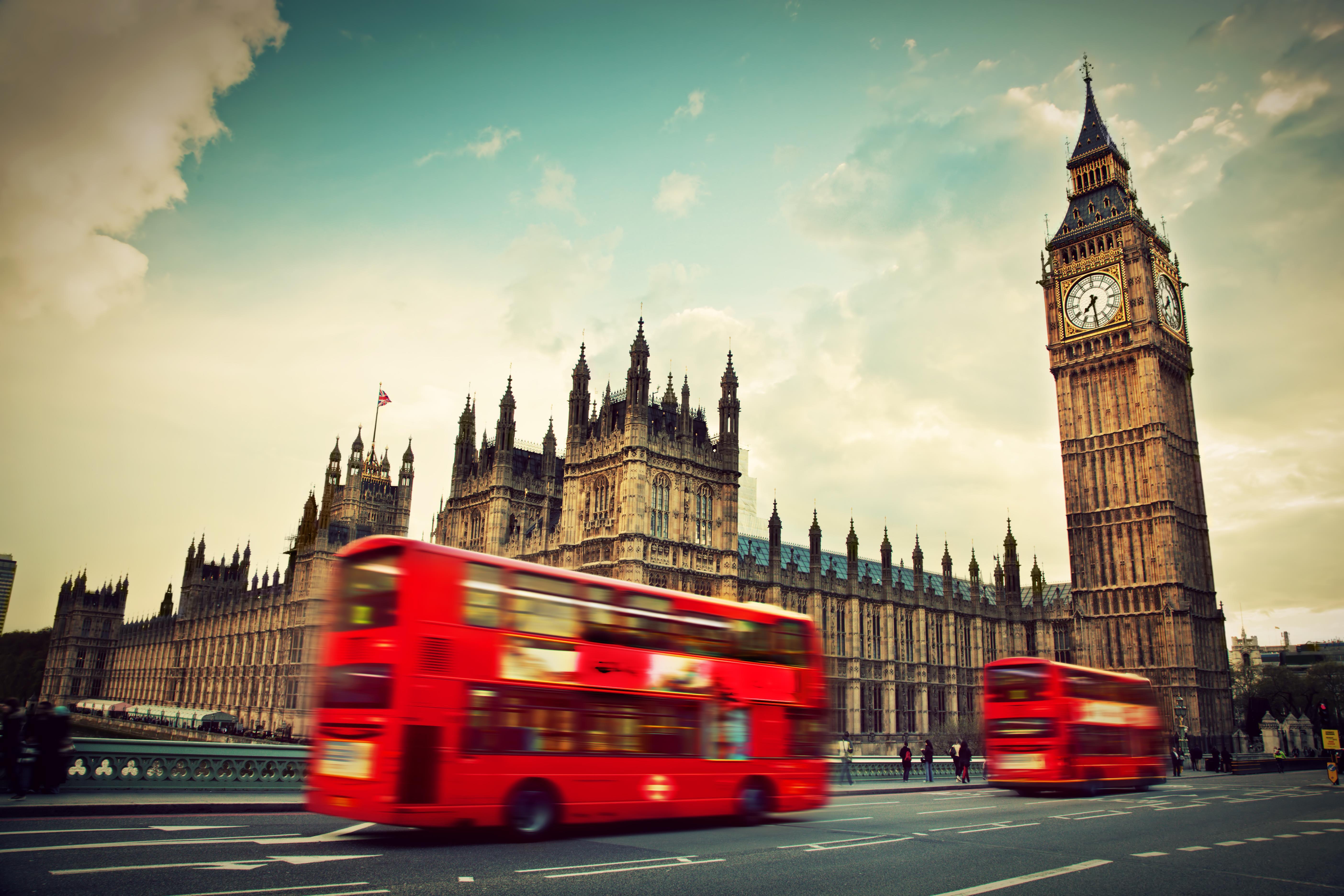 Anglická metropole je největším městem Evropy.