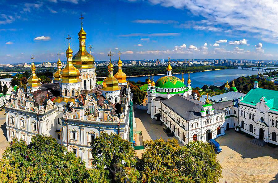 Kyjev je hlavní a největší město Ukrajiny
