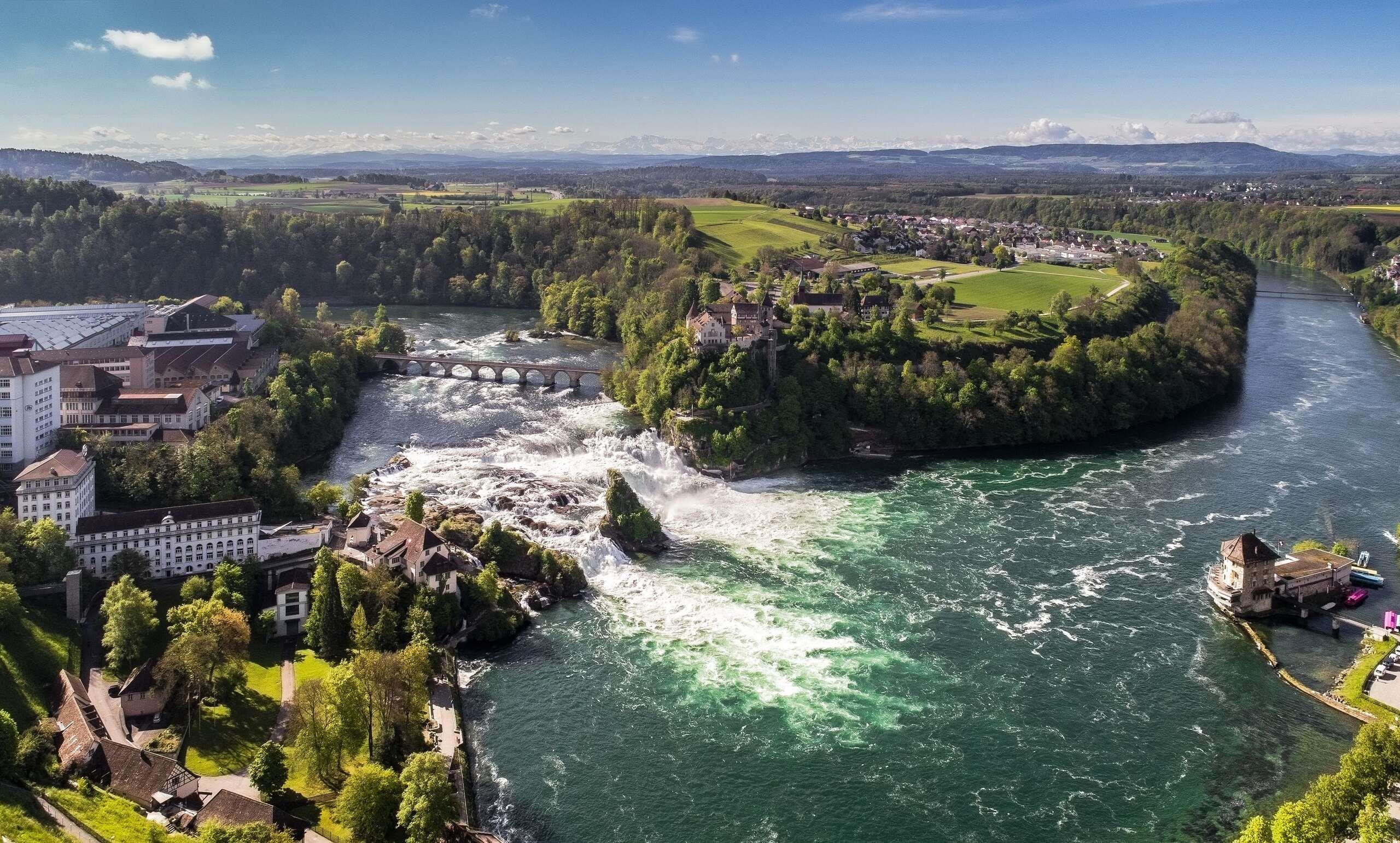 Návštěva Curychu se zastávkou u Rýnských vodopádů