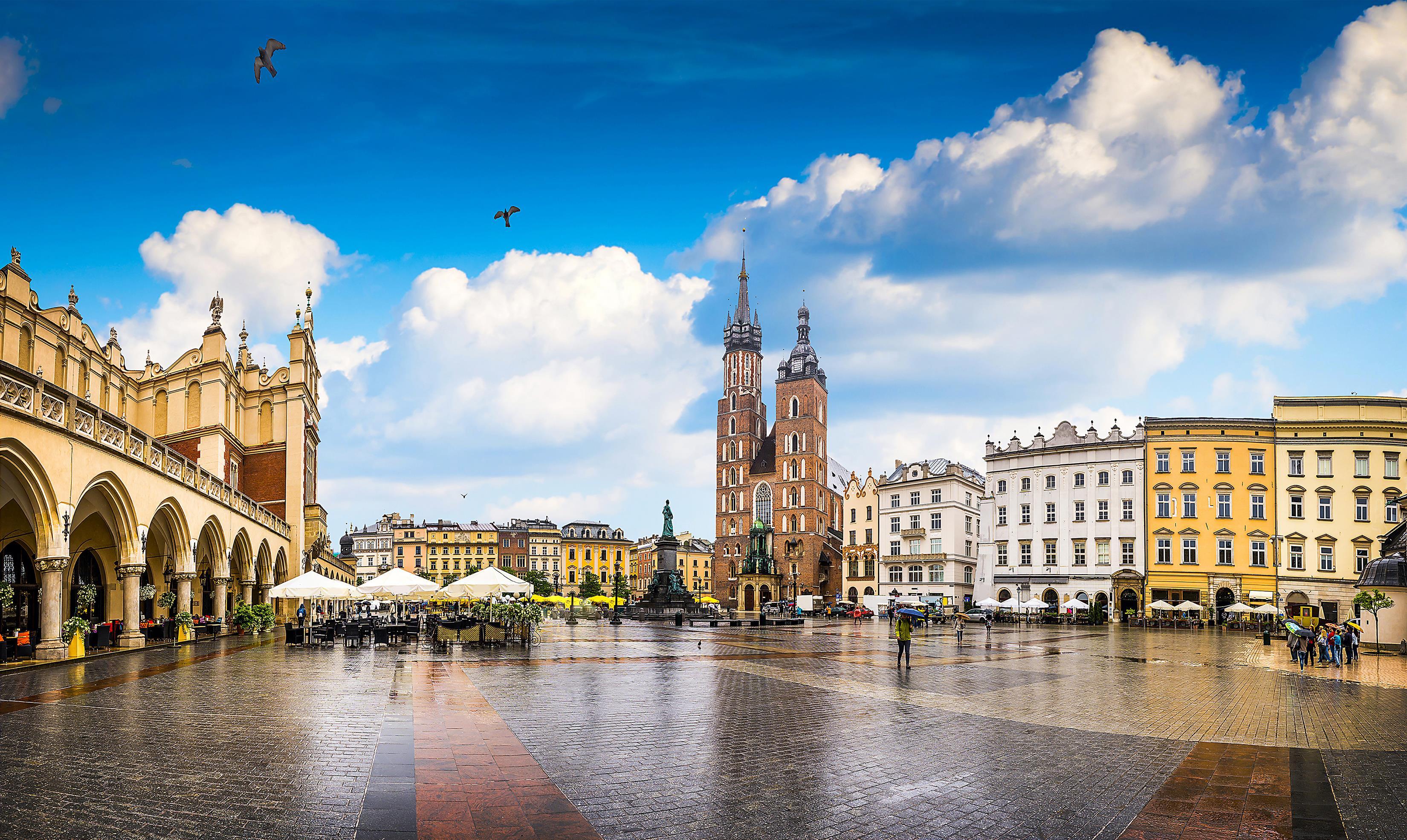 Královské město Krakov je druhé nejlidnatější město v Polsku