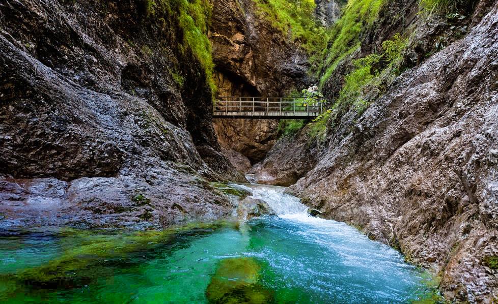 Solné doly v Berchtesgadenu a soutěska Almbachklamm 2021