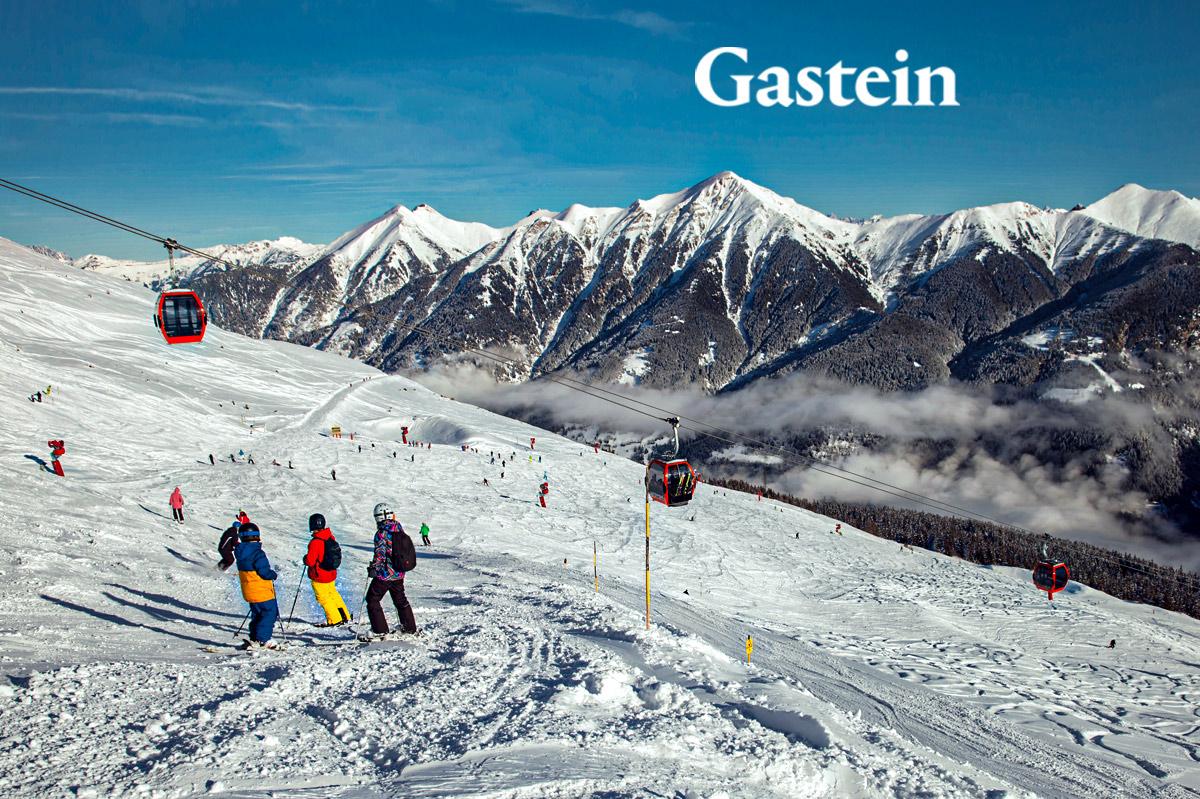 Jednodenné lyžovanie v Bad Gastein