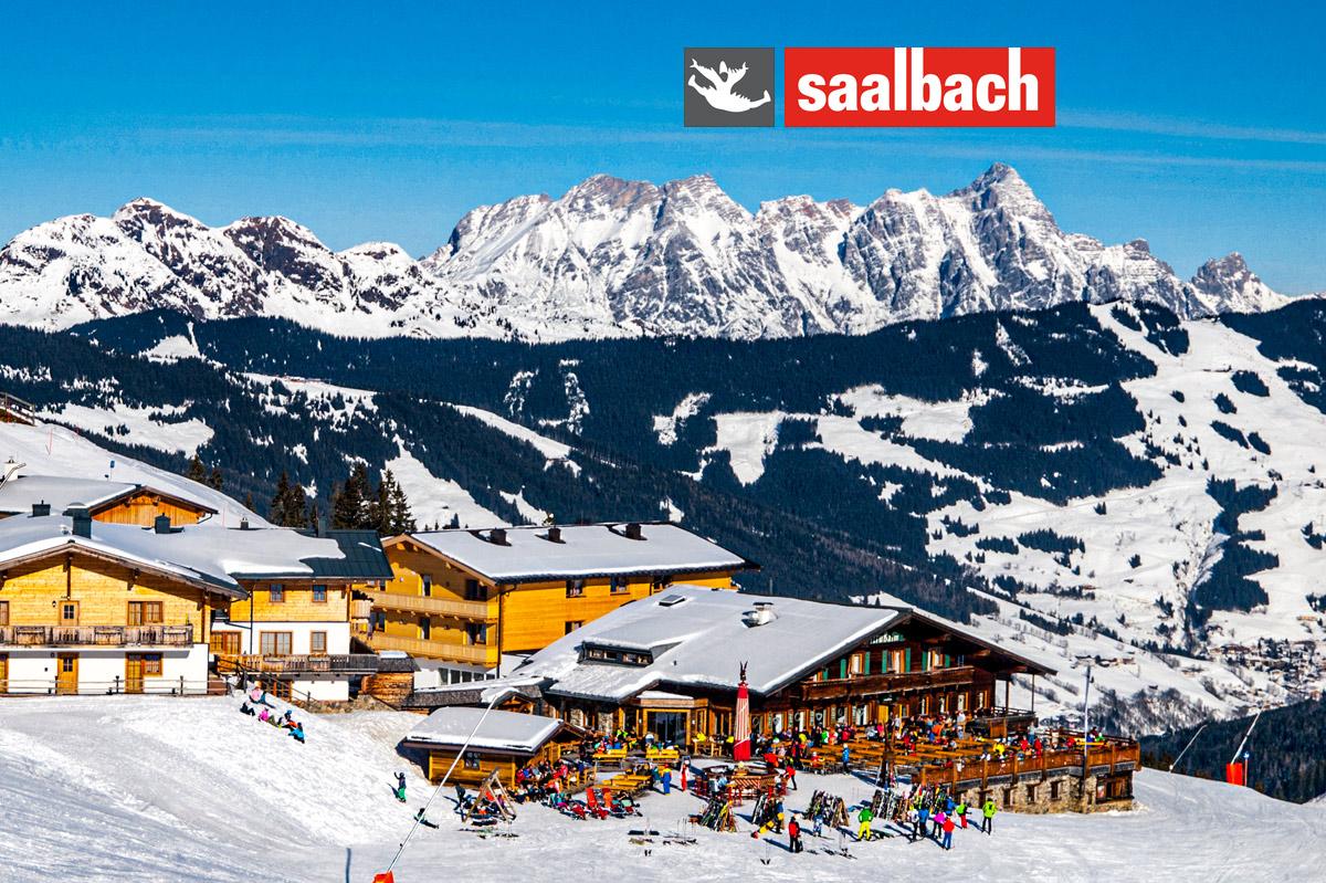 Jednodenné lyžovanie v Saalbachu