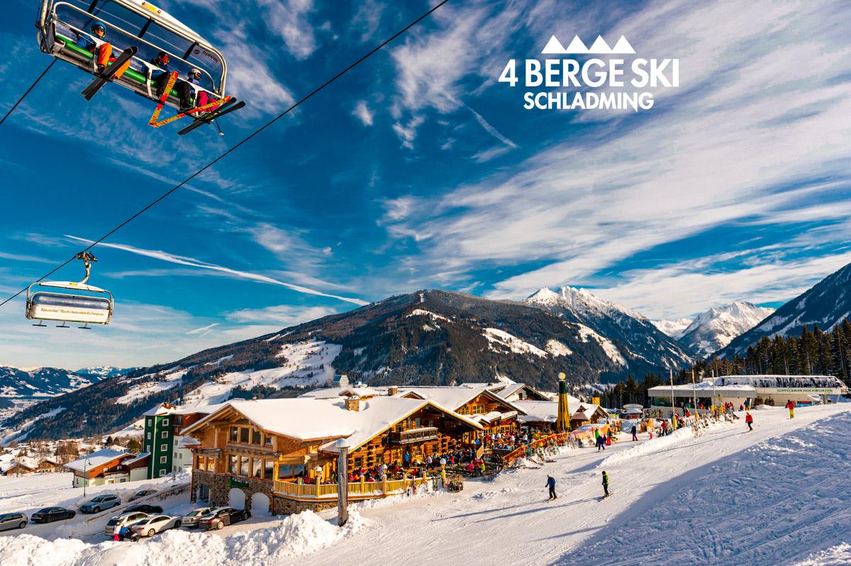 Jednodenní lyžování ve Schladmingu