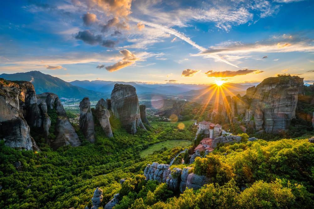 Grécko a Macedónsko s návštevou kláštoru Meteora