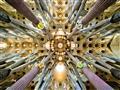 Detail stropu, Sagrada Familia