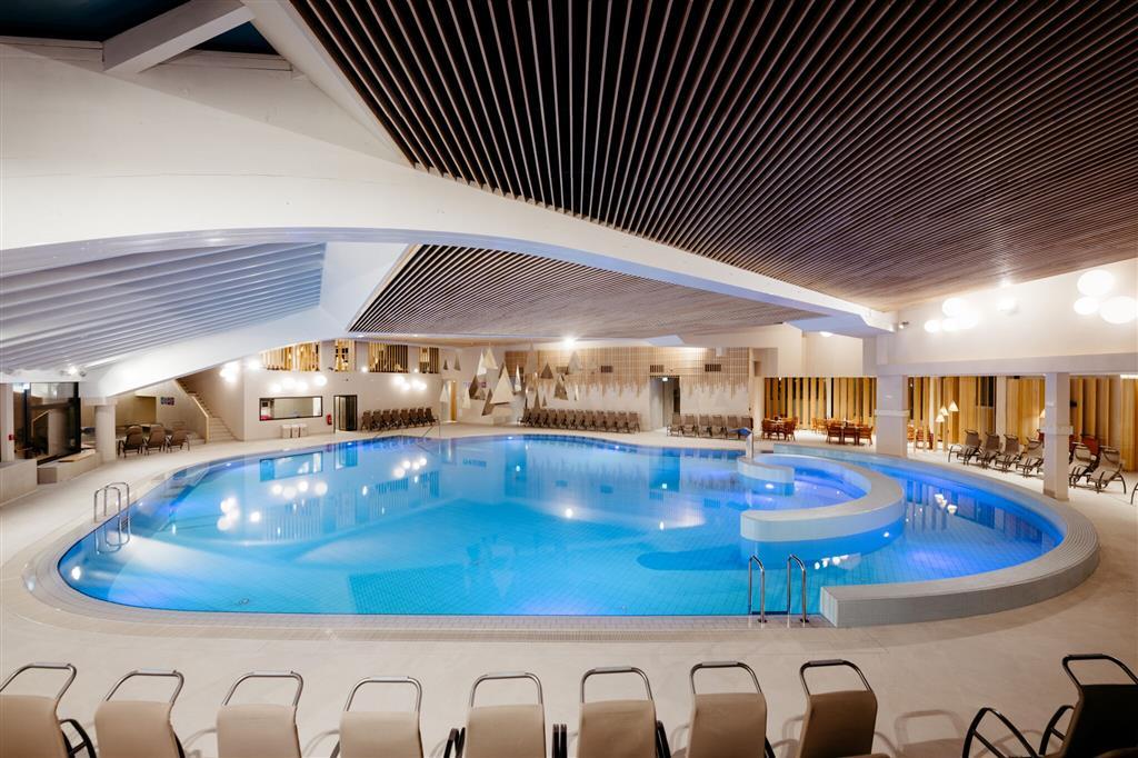 bazén v hotelu Ajda