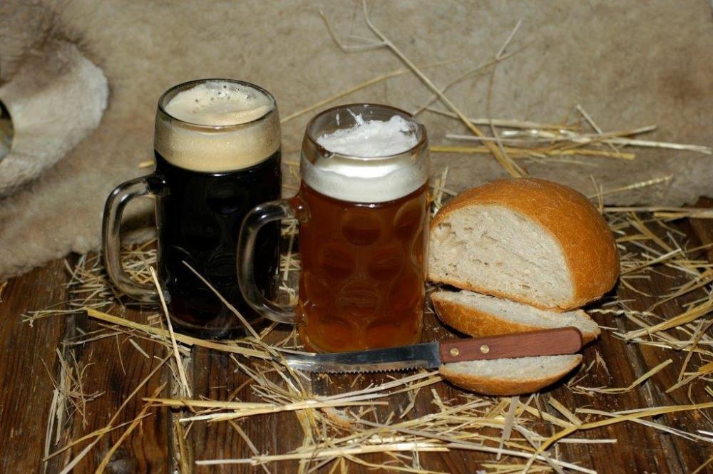 Součástí prohlídky pivovaru je i degustace