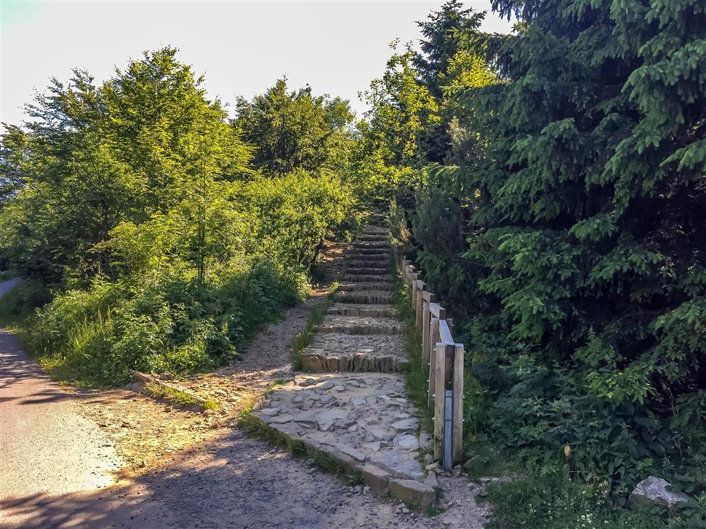 Pohodovou cestou se projdeme až k soše slovanského boha Radegasta