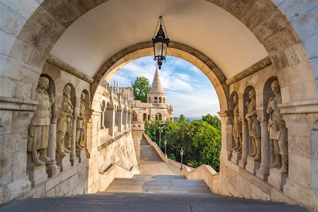 Gellértov vršek se známou pevností Citadelou