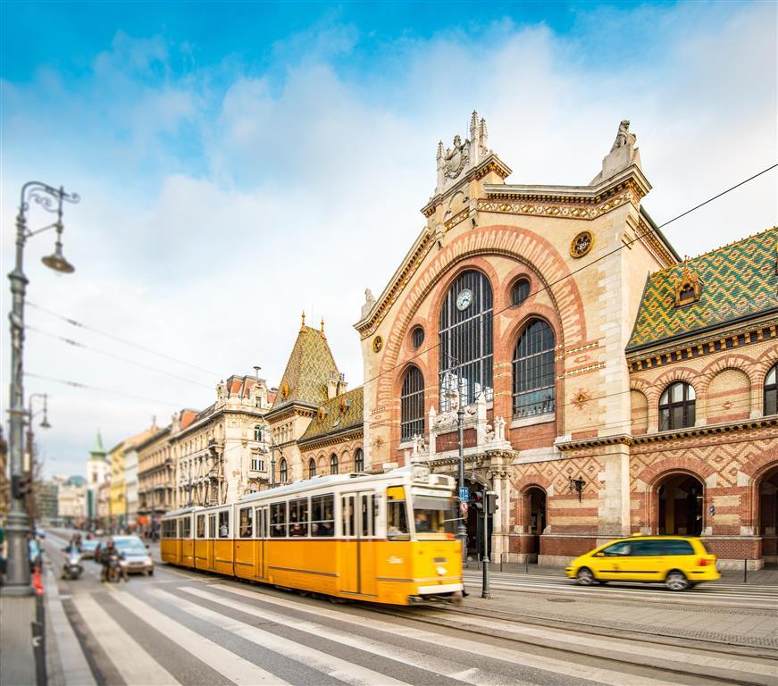 Veľká tržnica v Budapešti