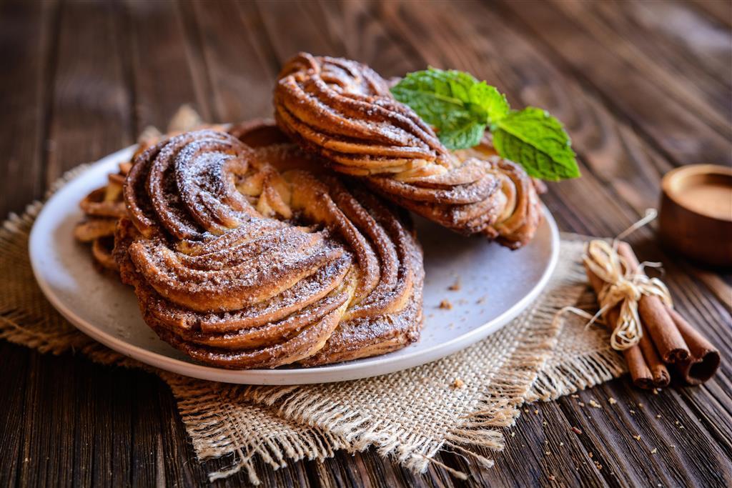 Tradičním estonským dezertem je kringle, sladký skořicový chléb