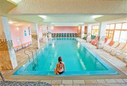 Bazén v hotelu Planja