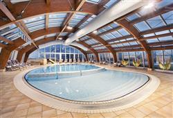 Wellness centrum hotelu Kompas
