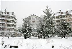 Lyžařské středisko Aprica také nabízí běžkařské stopy všech náročností.