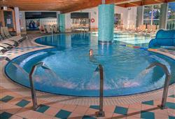 Po lyžování si odpočiňte v aquaparku AquaIN v Andalu, vstupné 9€/os
