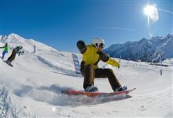 Snowpark je otevřen denně 10.00–16.00