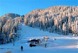Nicméně ani zkušení lyžaři nepřijdou zkrátka