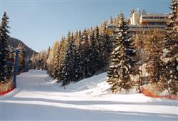 Hotel Sole Alto – 5denní lyžařský balíček se skipasem a dopravou v ceně***15