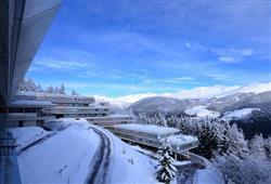 Hotel Sole Alto – 5denní lyžařský balíček se skipasem a dopravou v ceně***1