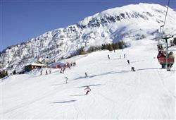 Hotel Derby - 6denní lyžařský balíček se skipasem a dopravou v ceně***24
