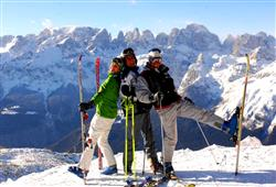 5denní lyžařský balíček Paganella – různé hotely*** s lyžováním pro ženy zdarma***11