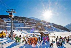 5denní lyžařský balíček Bormio – různé hotely**/*** s lyžováním pro ženy zdarma**0